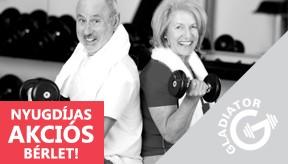 Nyugdíjas akció, Mátészalka, Gladiator Gym